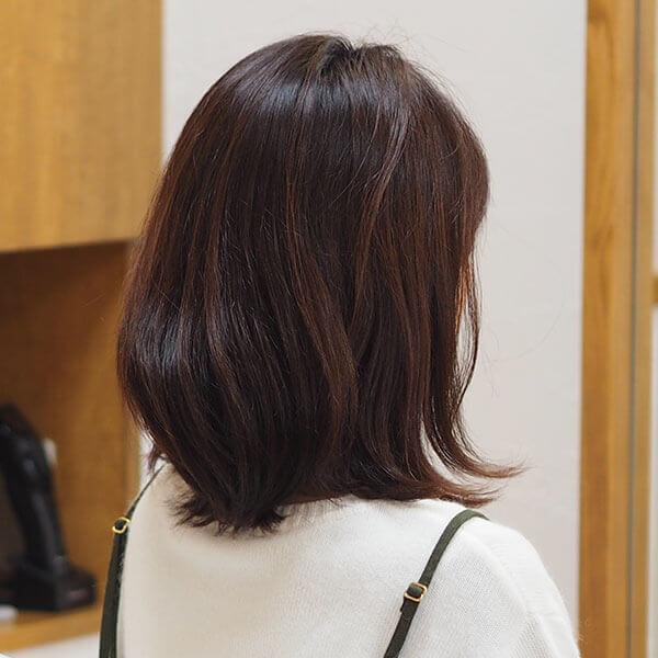 金沢文庫の美容院(美容室)クロッグヘアー レディースボブ before