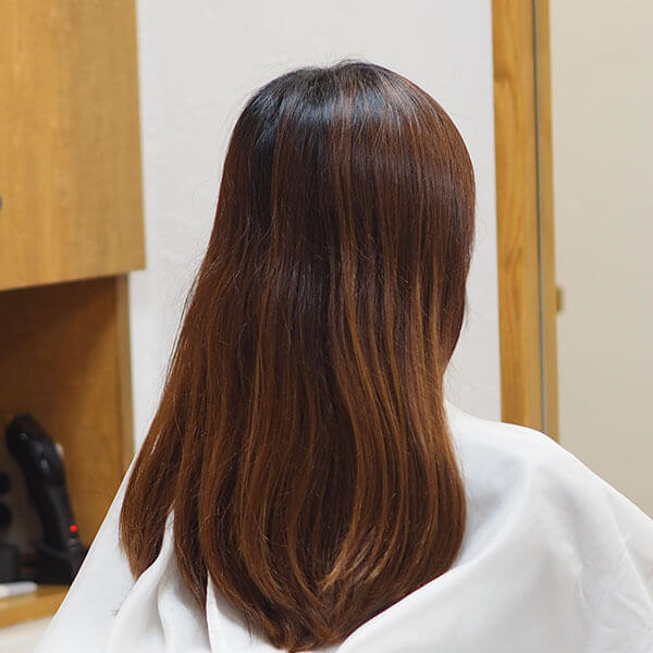金沢文庫の美容院(美容室)クロッグヘアー カラー before