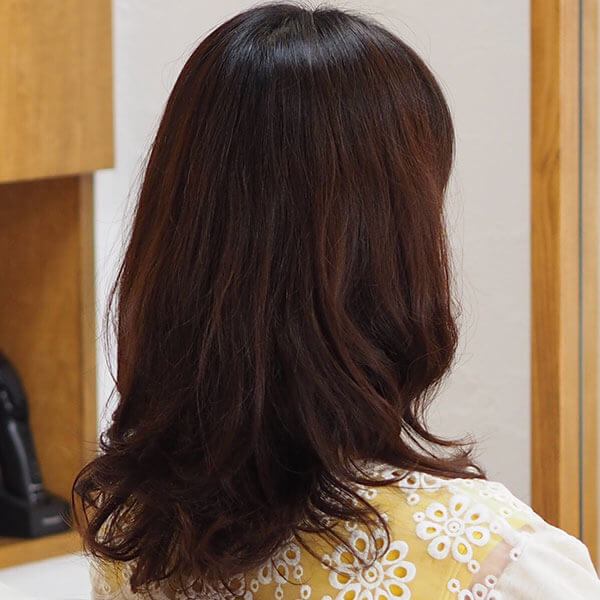 金沢文庫の美容院(美容室)クロッグヘアー パーマ after