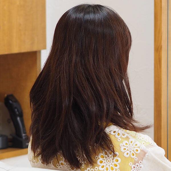 金沢文庫の美容院(美容室)クロッグヘアー パーマ before