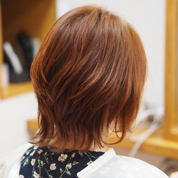 金沢文庫の美容院(美容室)クロッグヘアー レディースショート after