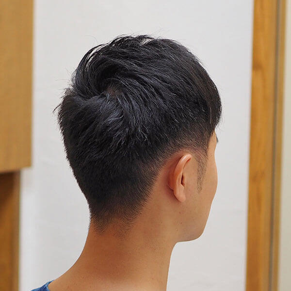 金沢文庫の美容院(美容室)クロッグヘアー メンズ刈り上げスタイル after