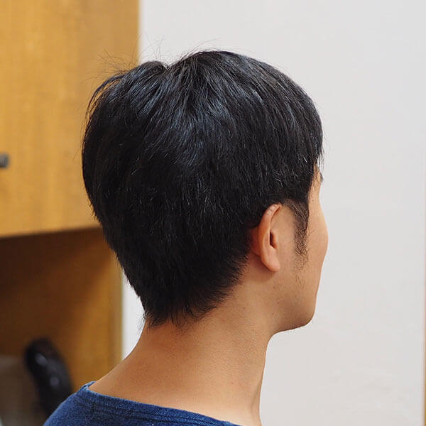 金沢文庫の美容院(美容室)クロッグヘアー メンズ刈り上げスタイル before