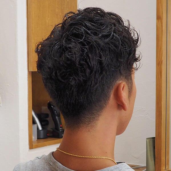 金沢文庫の美容院(美容室)クロッグヘアー メンズパーマスタイル after