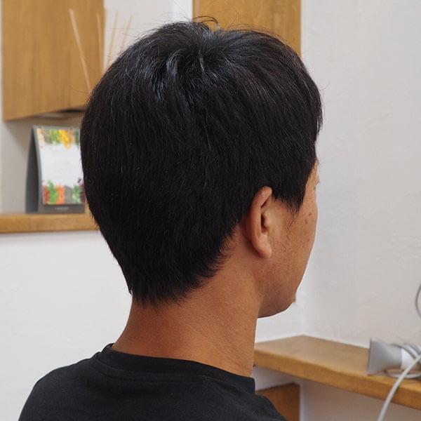金沢文庫の美容院(美容室)クロッグヘアー メンズショートスタイル before