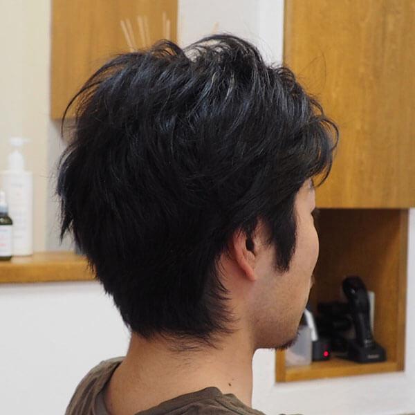 金沢文庫の美容院(美容室)クロッグヘアー メンズツーブロックスタイル before